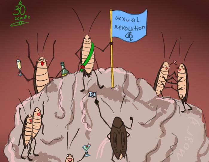 качество картинка про тараканы в голове восторг вызывает