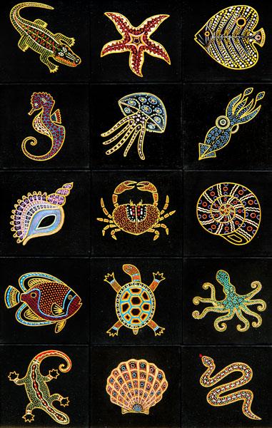Африканская тематика в росписи. сайт художницы тут. http...