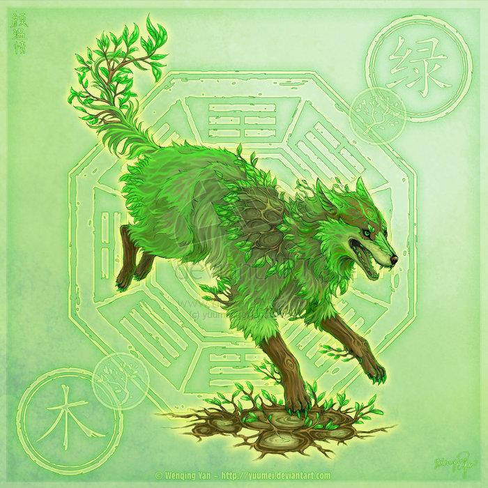 Wolf of Woods