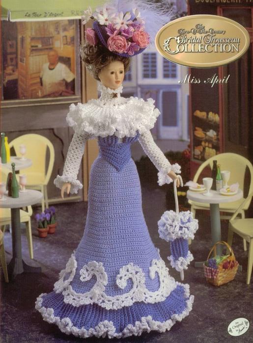 Для куклы: Barbie, Барби нового образца Описание: Designed by Annie...