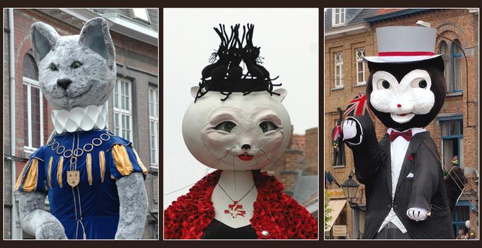 Коты и традиции. Бельгия. Ипр. Фестиваль котов. Часть 2 ...