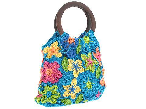 сумки вязаные из пакетов с схемами, вязание на спицах мохерового свитера...