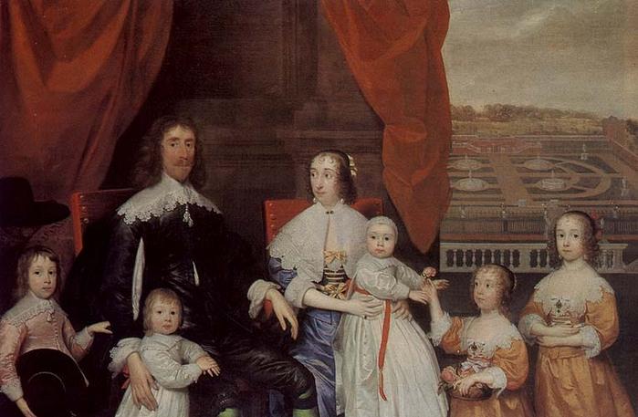 Артур Капель и его семья.