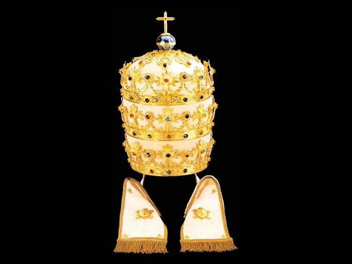 картинки тиара папы римского наличии шлифовальные