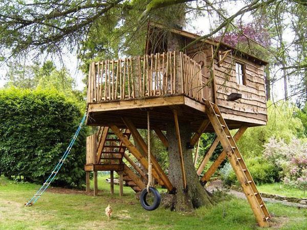 Разместить у себя на ресурсе или в ЖЖ.  Метки. дом на дереве.