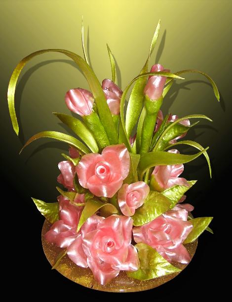 Красных, цветы из карамели купить в москве