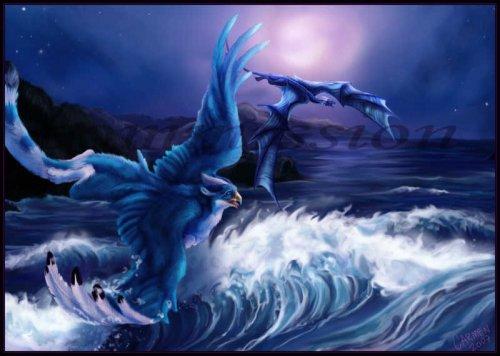 грифон вода дракон.