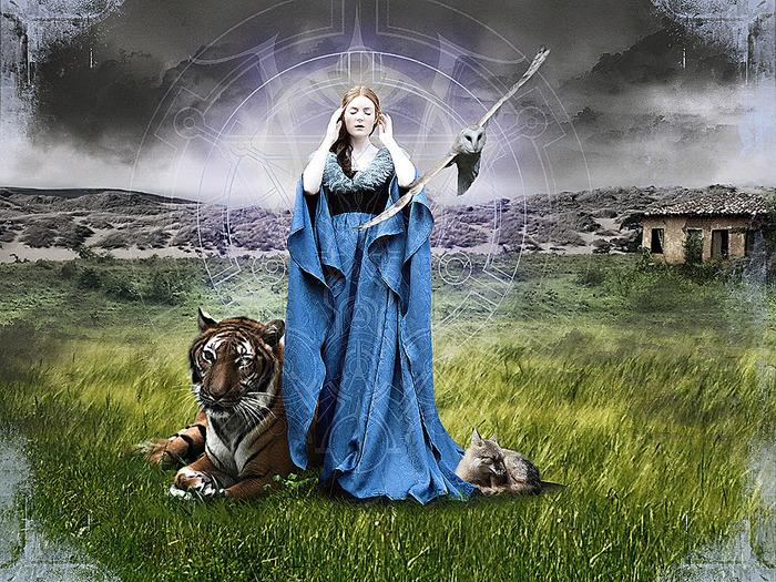 Законы Магии, практические наблюдения, накопленные за тысячи лет. 46218390_20071212_calluna_wallpapers_ru_beast_mistress_1024x768_1269