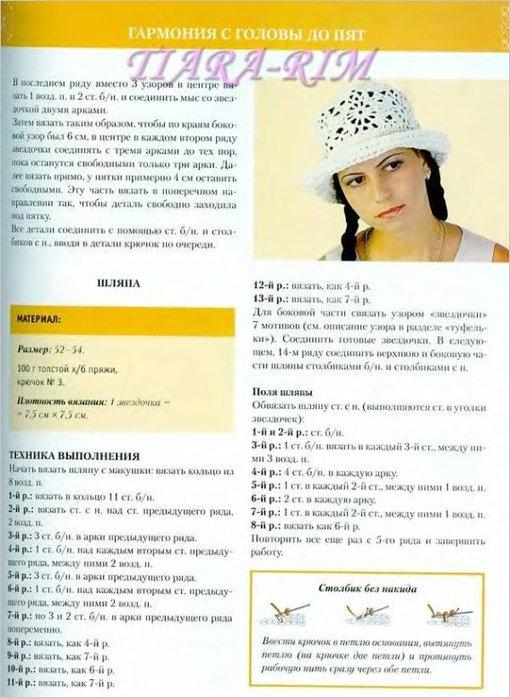 Женские ажурные летние шляпки, связанные крючком.  Автор:Admin.