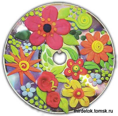 Поделки из компьютерных дисков - Поделки, делаем самостоятельно
