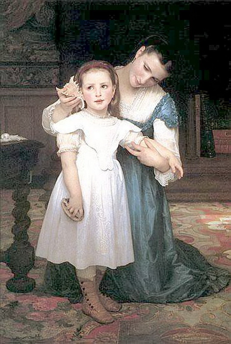 Арт художника Адо́льфа-Вилья́ма Бугро́ (William-Adolphe Bouguereau)