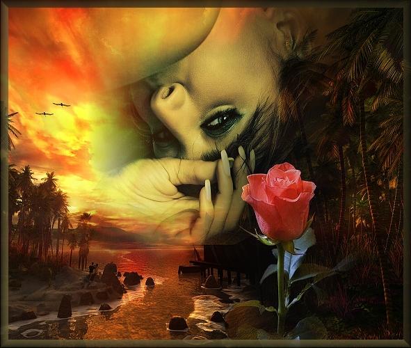 Стала, открытка одинокой женщине