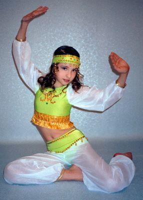 новогодний костюм для ребенка восточная красавица.