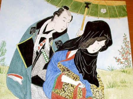 ихара сайкаку повесть о гэнгобэе много любившем