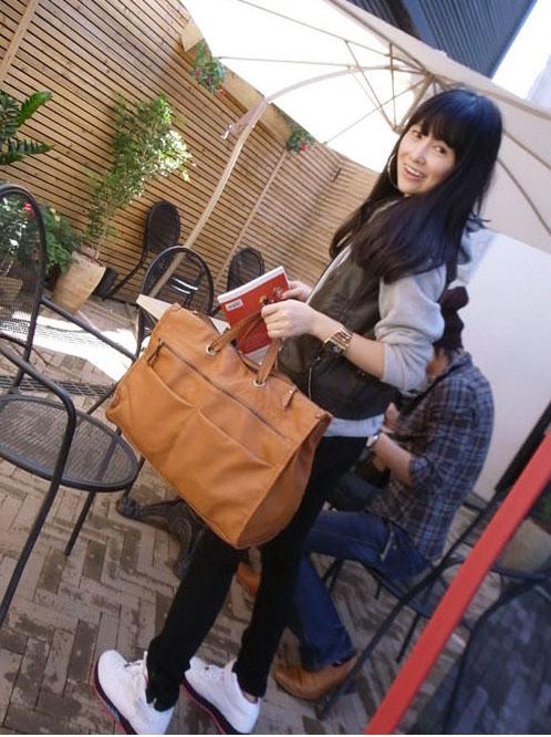 большая коричневая сумка - Сумки.