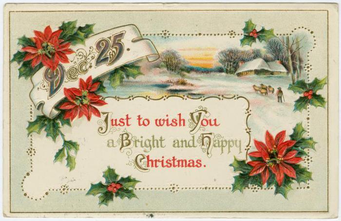 Смешные, поздравительная открытка с рождеством на английском