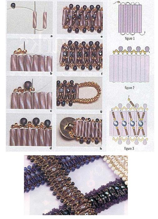 Схемы изготовления цветов из бисера и стекляруса ... секретами плетения.