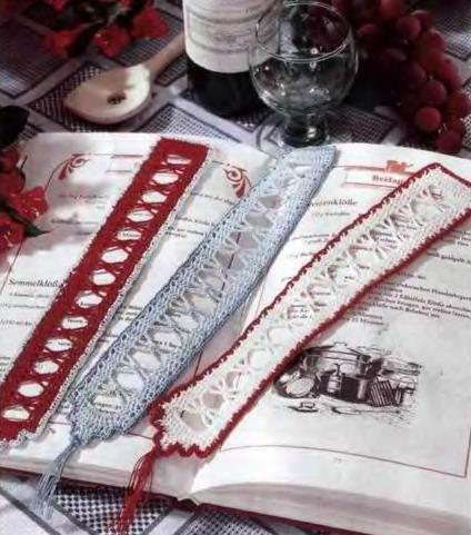 Закладки для книг из Diana Креатив 2007-12.