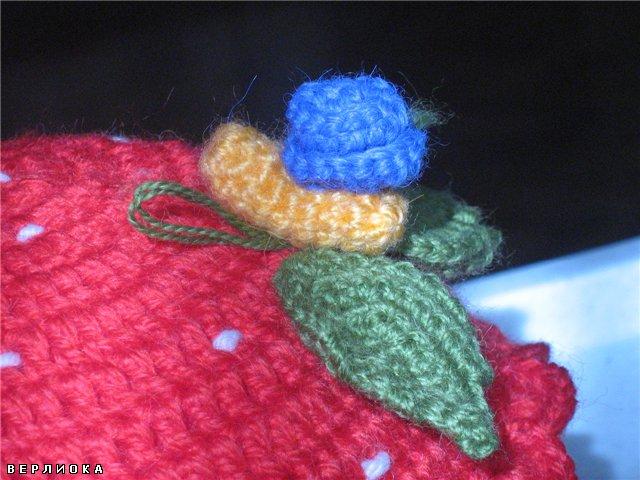 Поделка, изделие Вязание крючком: Шкатулка крючком.Вязание из.