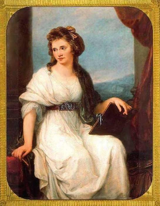 """Фото 10476  """" Ангелика Кауфманн.  Автопортрет.1787  """" Дамы-художницы."""