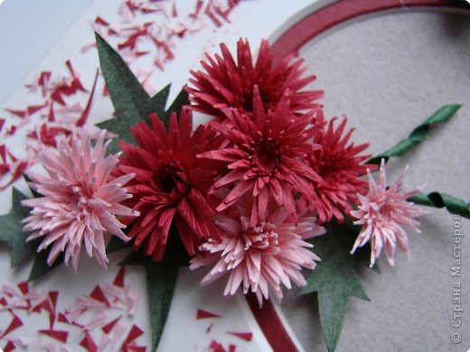 ЦИТАТА - квиллинг МК от Кочевницы /хризантемы.  21 января 2010.