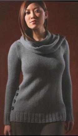 """Иллюстрация 17 к книге  """"Вяжем свитера, кардиганы, платья, топы..."""