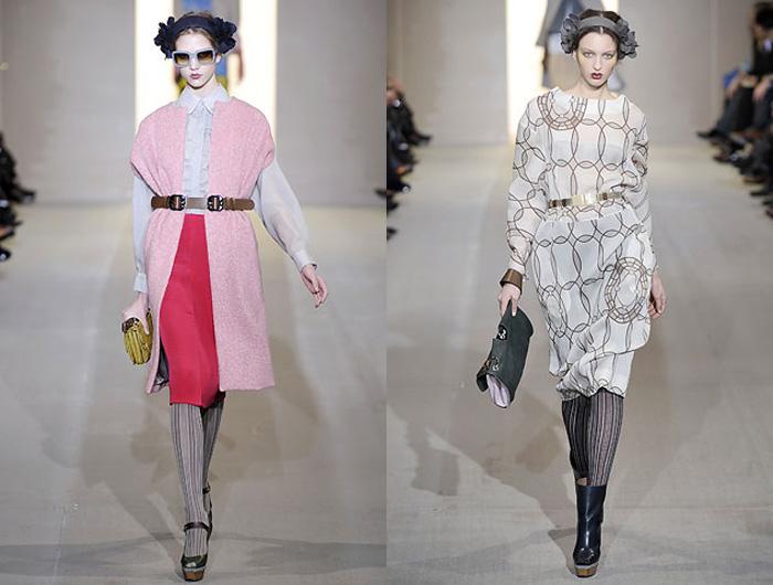 Marni (Марни) коллекция pret-a-porter осень - зима 2008.  Мода и стиль.