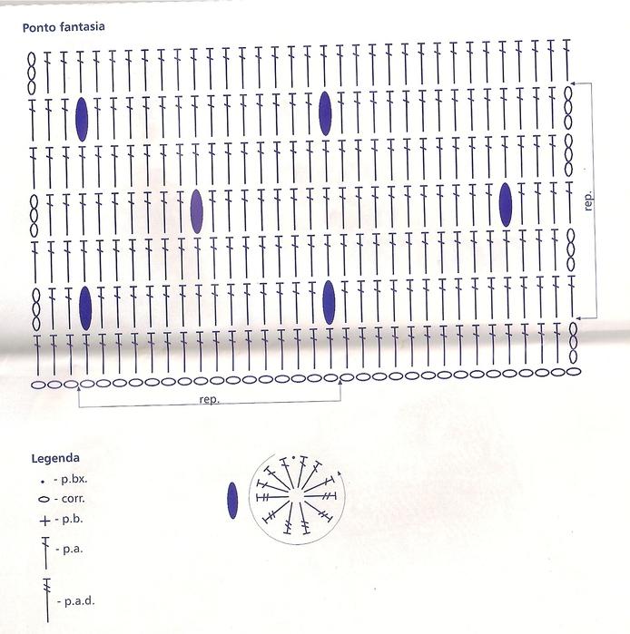 Деловая сумка, связанная крючком - 13.