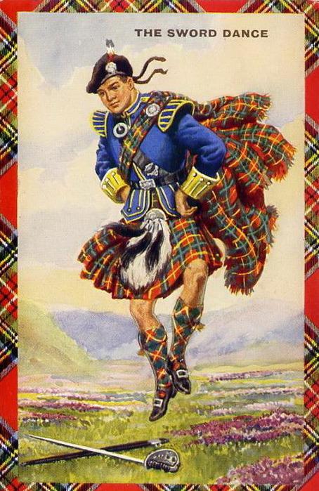 Шотландские открытки с днем рождения