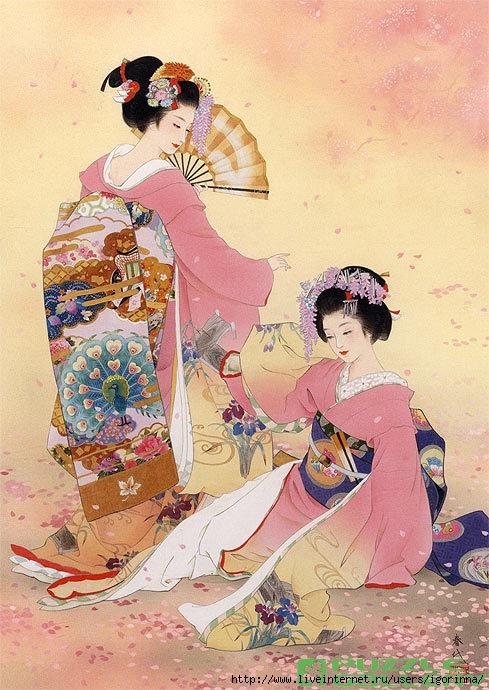 Японски художественные секс миниатюры