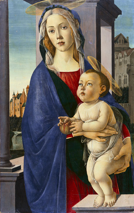 Virgin and Child (441x699, 127Kb)