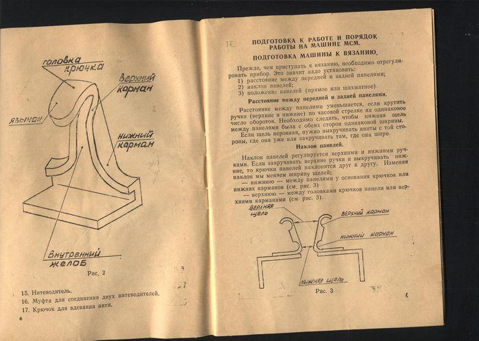 Инструкция к вязальной машине дончанка