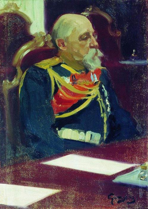 Генерал от инфантерии Христофор Христофорович Рооп. 1902