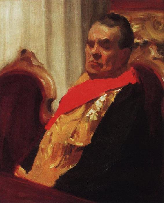 Портрет А.А.Половцева. 1902-1903