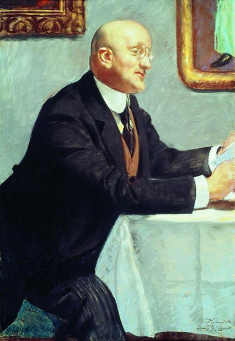 Портрет И.Э.Грабаря. 1916