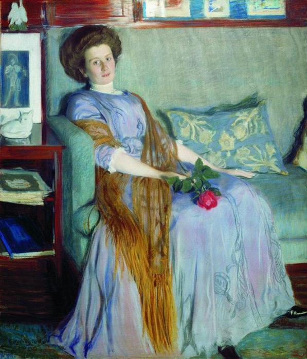 Портрет Р.И.Нотгафт. 1909