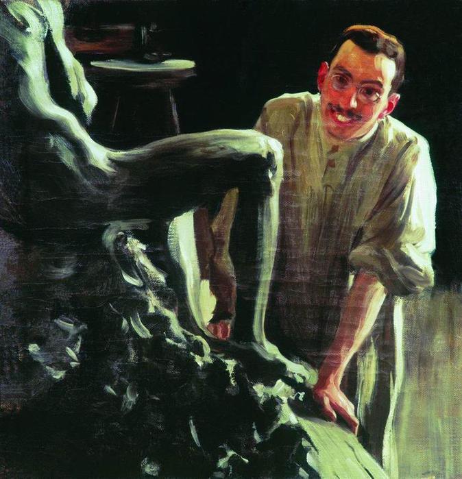 Портрет скульптора и живописца Д.С.Стеллецкого. 1901