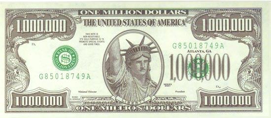 Новая купюра в 1000 долларов.. Обсуждение на LiveInternet ...