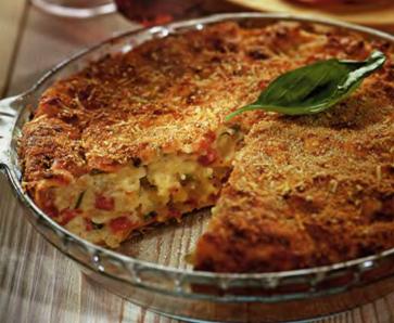 Сицилийский картофельный пирог