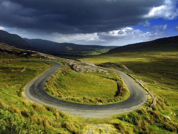 ирландия фото природы