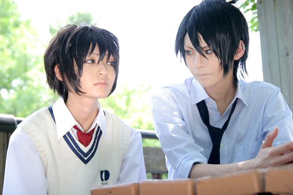 cosplay: Nabari no Ou (600x400, 108Kb)