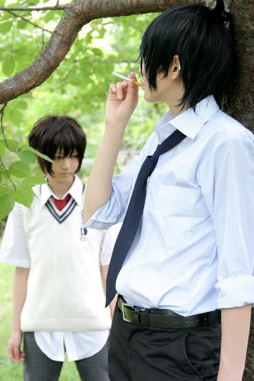 cosplay: Nabari no Ou (367x550, 105Kb)