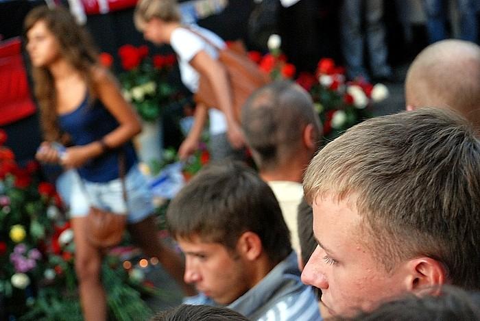 Акция памяти Юрия Волкова от 26 июля. Москва, Чистые пруды (700x469, 98Kb)