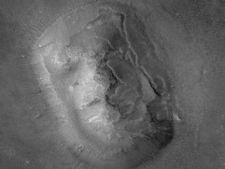 62174554 nasa NASA раскрыло тайну знаменитого лица на Марсе