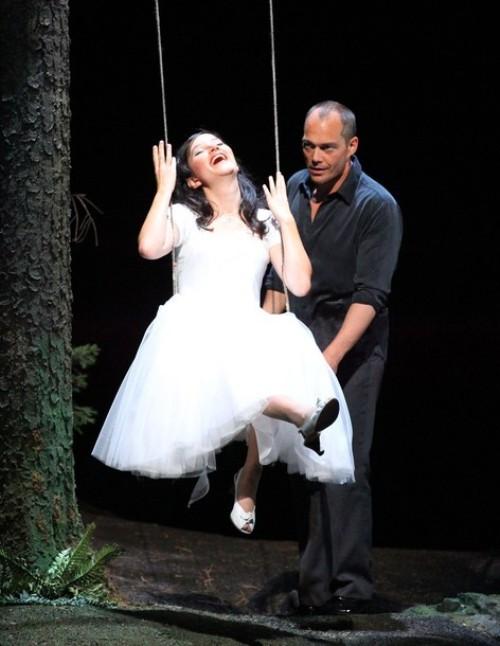 Репетиция оперы Вольфганга Амадея 'Дон Жуан' в Зальцбурге, 6 августа 2010 года.