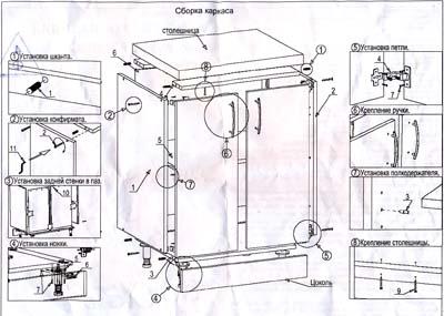 Икеа схема сборки шкафа фото 871