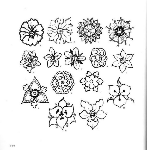 фото цветов рисунки