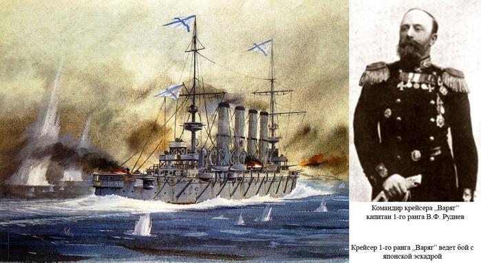 "Картинки по запросу Капитан крейсера ""Варяг"" капитан 1-го ранга Руднев"