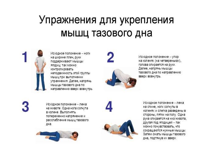 простатит мышцы тазового дна
