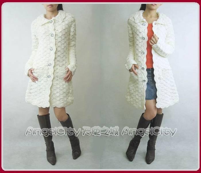 Написано Anyuta-UA Оригинальное сообщение Две модели пальто крючком.